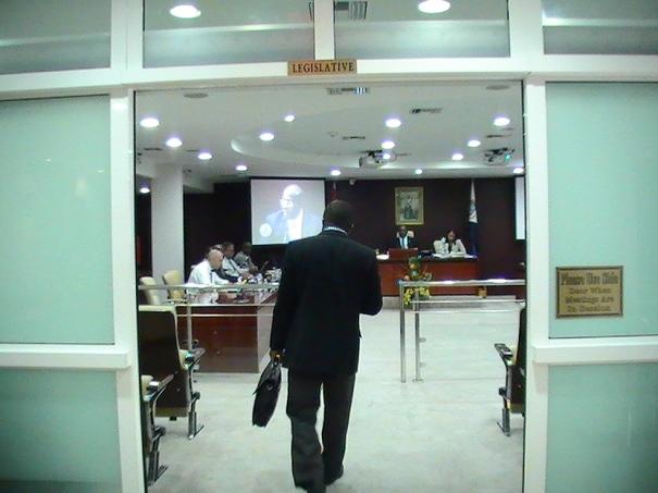 romaine laville parliamentarian gangsta thug stmaartennews.com judith roumou (26)