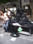 st maarten sxm living statues photos judith roumou stmaartennews (4)