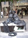 st maarten sxm living statues photos judith roumou stmaartennews (51)