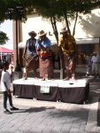 st maarten sxm living statues photos judith roumou stmaartennews (7)