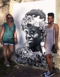 The faces of Saint-Martin inaugurated on the walls of marigot! St Martin