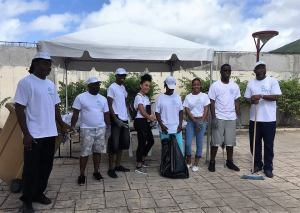 1ST MORNING CLEAN ISLAND CLEAN ISLAND CLEANING! LE COLECTIVITE FRENCH SAINT MARTIN