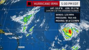 Beware of False Hurricane Irma Reports From Prefecture Un faux communiqué de la préfecture sur une alerte rouge cyclonique